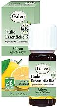 Voňavky, Parfémy, kozmetika Organický éterický olej Citrón - Galeo Organic Essential Oil Lemon