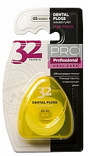 Voňavky, Parfémy, kozmetika Zubná niť 32 Pearls PRO, žlté púzdro - Modum 32 Perly Dental Floss