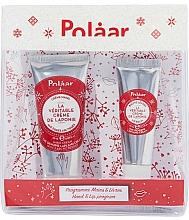 Voňavky, Parfémy, kozmetika Sada - Polaar Set (mini/hand/cream/25ml+lip/balm/10ml)