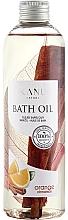 """Voňavky, Parfémy, kozmetika Olej do kúpeľa """"Pomaranč so škoricou"""" - Kanu Nature Bath Oil Orange Cinnamon"""
