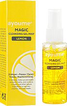 Voňavky, Parfémy, kozmetika Čistiaci sprejový gél na tvár s citrónom - Ayoume Magic Cleansing Gel Mist Lemon