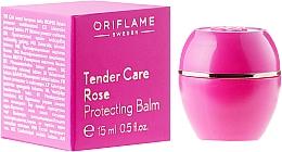 """Voňavky, Parfémy, kozmetika Zvláčňujúce prostriedky """"Starostlivosť o ponuku"""" s ružovým olejom - Oriflame Tender Care Rose Protecting Balm"""