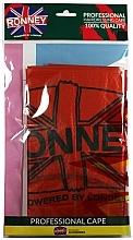 Voňavky, Parfémy, kozmetika Kadernícka pláštenka, univerzálna veľkosť, tmavooranžová - Ronney Professional Hairdressing Cape One Size