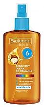 Voňavky, Parfémy, kozmetika Arganový olej pre opaľovanie SPF6 - Bielenda Bikini Argan SunTan Oil