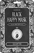 Voňavky, Parfémy, kozmetika Čistiaca maska na tvár - Kocostar Black Happy Mask