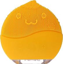 Voňavky, Parfémy, kozmetika Kefa na čistenie tváre BR-030, žltá - Lewer