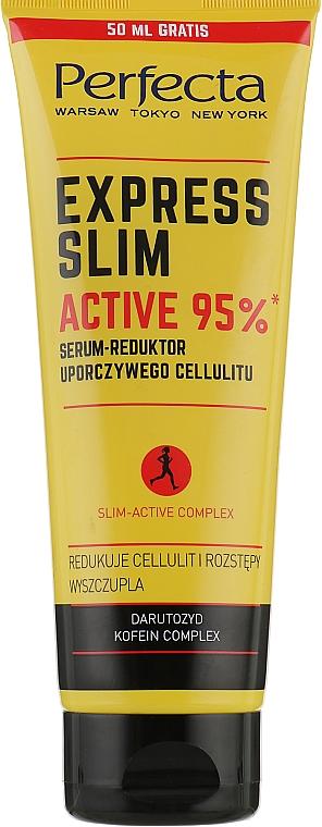 Regeneračné sérum proti celulitíde - Perfecta Express Slim Active 95% Serum-Reduktor