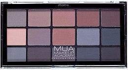 Voňavky, Parfémy, kozmetika Paleta tieňov na viečka - MUA 15 Shade Eyeshadow Palette