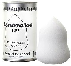 Voňavky, Parfémy, kozmetika Hubka na make-up - Too Cool For School Marshmallow Puff White