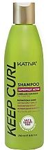 Voňavky, Parfémy, kozmetika Šampón na kučeravé vlasy - Kativa Keep Curl Shampoo
