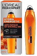 Voňavky, Parfémy, kozmetika Kolieskové aplikátor okolo očí - L'Oreal Paris Men Expert Hydra Energetic Roll-on Eyes