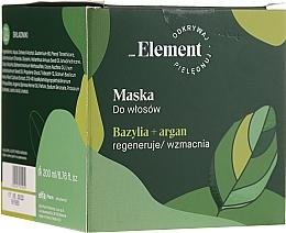 Voňavky, Parfémy, kozmetika Maska na vlasy - _Element Basil Strengthening Anti-Hair Loss Mask