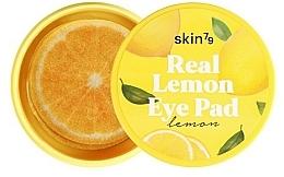 """Voňavky, Parfémy, kozmetika Vankúšiky pod oči a na tvár """"Citrón"""" - Skin79 Brightening Real Lemon Eye Pad"""