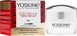 Voňavky, Parfémy, kozmetika Regeneračný krém proti vráskam 55+ - Yoskine Geisha Gold Secret Anti-Wrinkle Regeneration Cream