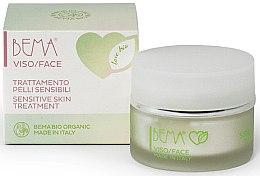 Voňavky, Parfémy, kozmetika Krém pre citlivú pleť tváre - Bema Cosmetici Love Bio Sensitive Skin Treatment
