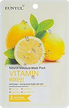 Voňavky, Parfémy, kozmetika Maska na tvár s vitamínmi - Eunyul Natural Moisture Mask Pack Vitamin
