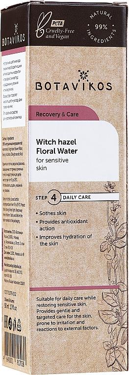 Kvetinová voda pre citlivú pokožku s extraktom z hamamelu - Botavikos — Obrázky N2