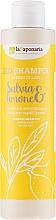 """Voňavky, Parfémy, kozmetika Šampón """"Šalvia a citrón"""" - La Saponaria Salvias & Limone Bio Shampoo"""