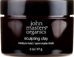 Voňavky, Parfémy, kozmetika Modelovacia hlina s matujúcim efektom - John Masters Organics Sculpting Clay Medium Hold Matte Finish