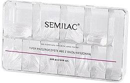 Voňavky, Parfémy, kozmetika Semilac Tips Box Klar - Semilac Tips Box Klar