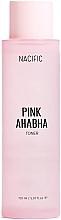 Voňavky, Parfémy, kozmetika Tonikum na tvár s melónovým extraktom, kyselinami ANA a BHA - Nacific Pink AHA BHA Toner