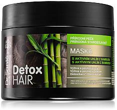 """Voňavky, Parfémy, kozmetika Maska na vlasy """"Bambusové uhlie"""" - Dr. Sante Detox Hair Mask"""