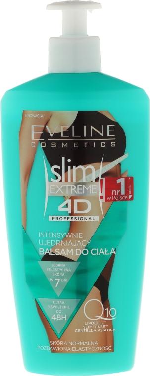 Intenzívne spevňujúce mlieko pre suchú pokožku - Eveline Cosmetics Slim Extreme 4D Intensive Body Balm