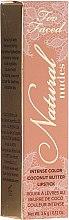 Voňavky, Parfémy, kozmetika Krémová rúž - Too Faced Natural Nudes Lipstick