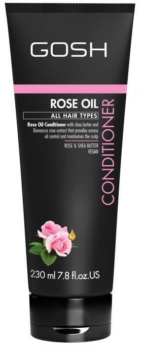 Kondiconér na vlasy s ružovým olejom - Gosh Rose Oil Conditioner