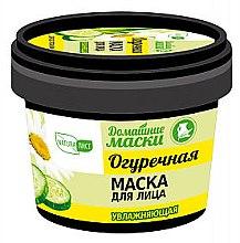 "Voňavky, Parfémy, kozmetika Hydratačná uhorková maska na tvár ""Domáce masky"" - NaturaList"