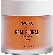 Voňavky, Parfémy, kozmetika Krém na tvár s lupienkami ruží - Nacific Real Floral Rose Air Cream