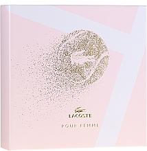 Voňavky, Parfémy, kozmetika Lacoste Pour Femme - Sada (edp/50/ml + b/lot/100/ml)