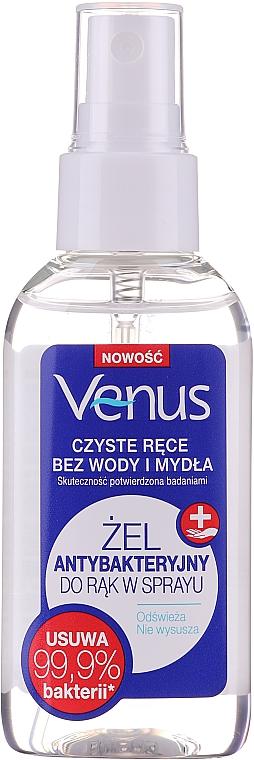 Antibakteriálny gél na ruky v spreje - Venus Antibacterial Hand Gel Spray