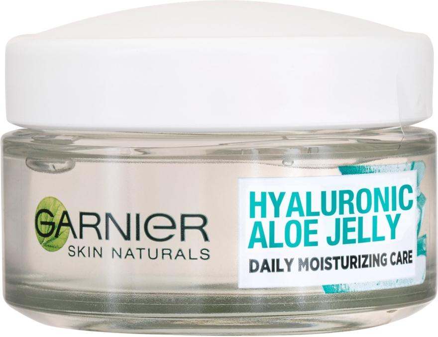 Hydratačný krém s gélovou textúrou - Garnier Skin Naturals Hyaluronic Aloe Jelly Cream