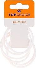 Voňavky, Parfémy, kozmetika Vlasové gumičky 22807, biele - Top Choice