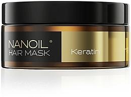 Voňavky, Parfémy, kozmetika Maska na vlasy s keratínom - Nanoil Keratin Hair Mask