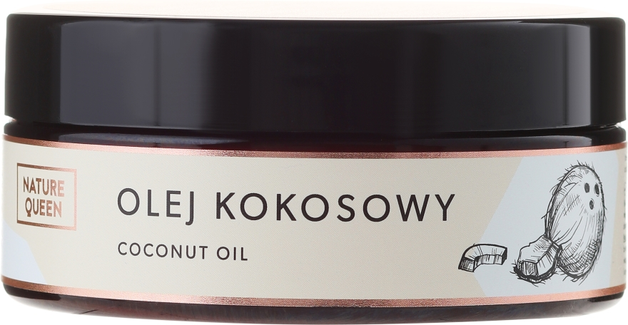 Kokosový olej na telo - Nature Queen Cooconut Oil