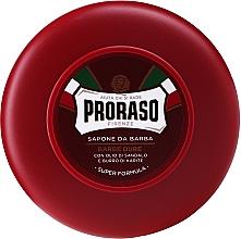 Voňavky, Parfémy, kozmetika Mydlo na holenie pre tuhé štetiny s bambuckým maslom a santalovým drevom - Proraso Red Shaving Soap