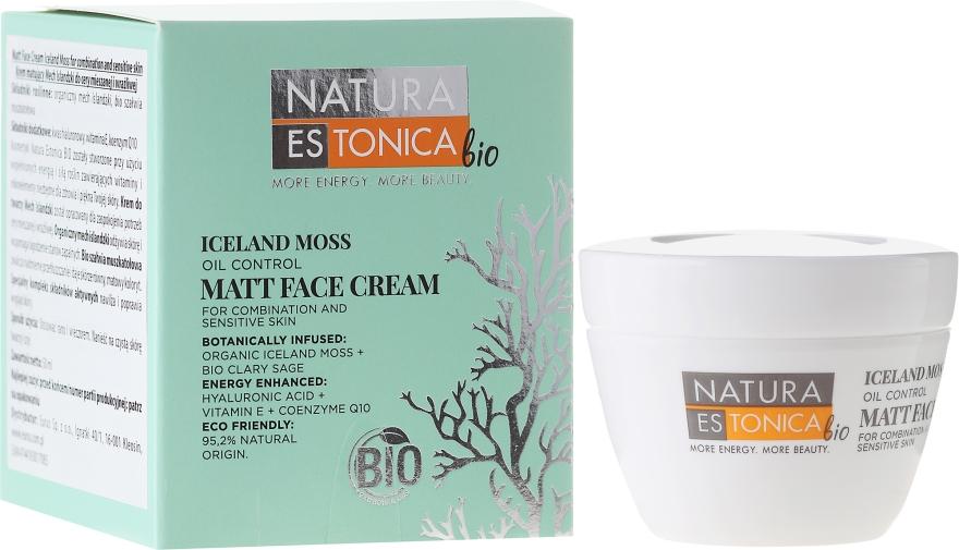 Krém na tvár Islandský mach - Natura Estonica Iceland Moss Matt Face Cream