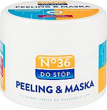 Voňavky, Parfémy, kozmetika Maska-peeling pre nohy dvojstupňový - Pharma CF No.36 Peeling & Mask