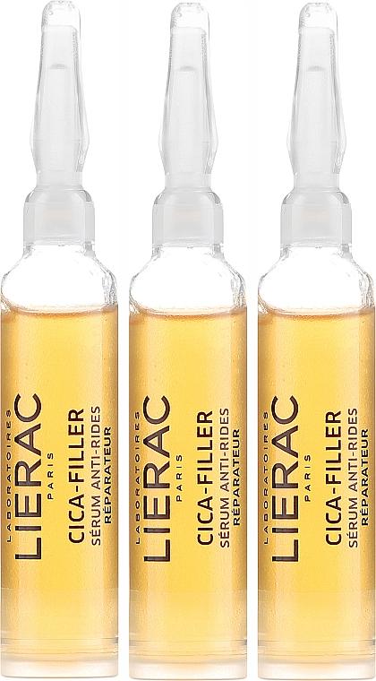 Anti-aging sérum na tvár - Lierac Cica-Filler Anti-Wrinkle Repairing Serum — Obrázky N2
