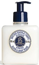 Voňavky, Parfémy, kozmetika Ultra výživná čistiaca pena na ruky a telo - L'occitane Shea Butter Ultra Rich Hand & Body Wash