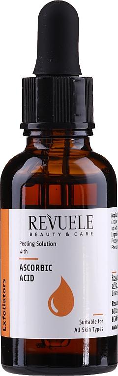 Peeling s kyselinou askorbovou - Revuele Peeling Solution Ascorbic Acid Exfoliator