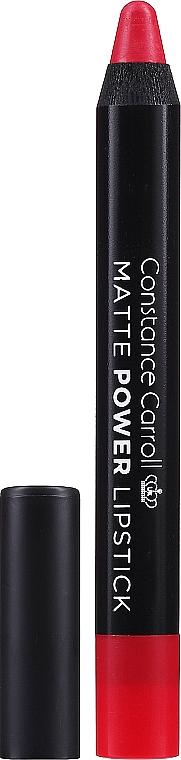 Rúž-ceruzka na pery - Constance Carroll Matte Power Lipstick