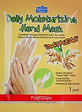 Voňavky, Parfémy, kozmetika Maska na ruky vo forme rukavíc - Purederm Daily Moisturizing Hand Mask Oatmel