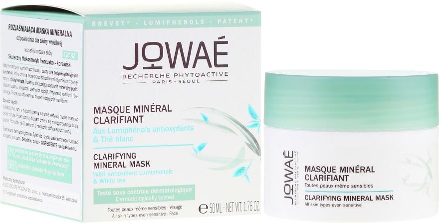 Osviežujúca minerálna maska pre citlivú pokožku - Jowae Masque Clarifying Mineral Mask