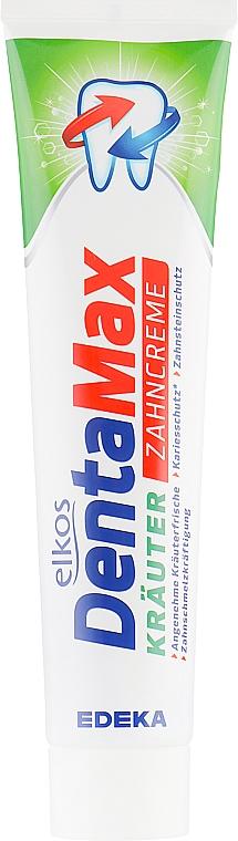 Zubná pasta s bylinným extraktom - Elkos Dental Denta Max