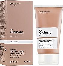 Voňavky, Parfémy, kozmetika Opaľovací krém s s minerálnymi filtrami - The Ordinary Suncare Mineral UV Filters SPF30 Antioxidants