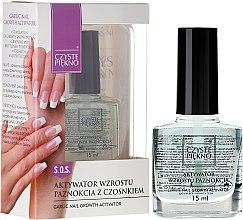 Voňavky, Parfémy, kozmetika Aktivátor rastu nechtov - Czyste Piękno Garlic Nail Growth Activator