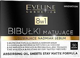 Voňavky, Parfémy, kozmetika Zmatňujúce obrúsky na tvár - Eveline Cosmetics 8in1